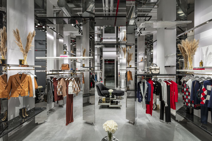 balmain new york boutique by olivier rousteing and studio amv