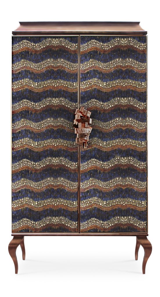 divine armoire cabinet with feather doors by koket