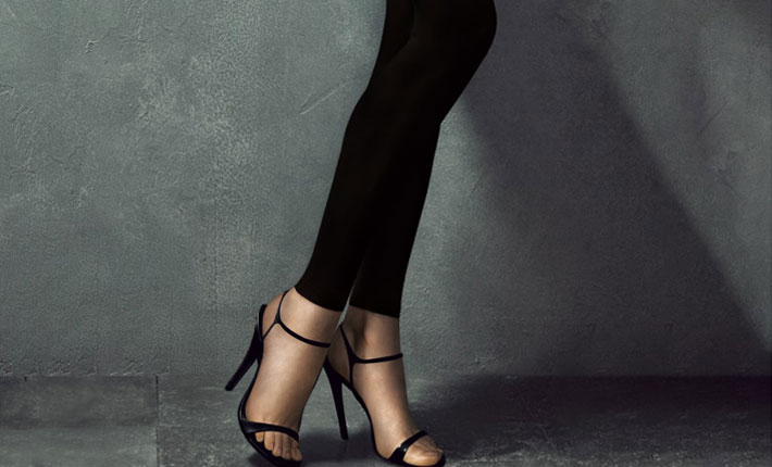 how to wear footless tights by donna karen
