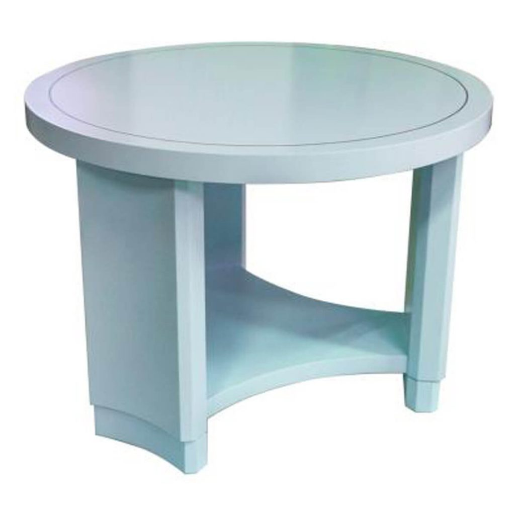 Round Monaco Occasional Table by Kindel, Karges, Councill