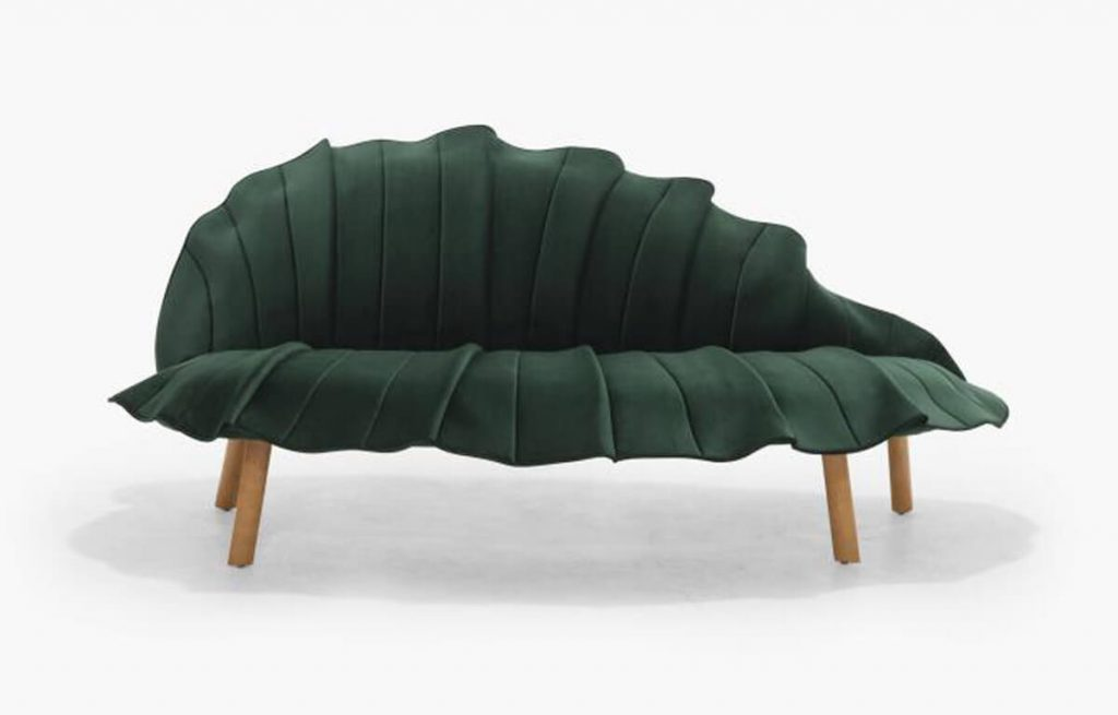 Sage Sofa by Kenneth Cobonpue high point market fall 2020 style spotters