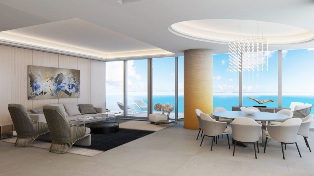 2000 Ocean Luxury Residence by Pepe Calderin Design