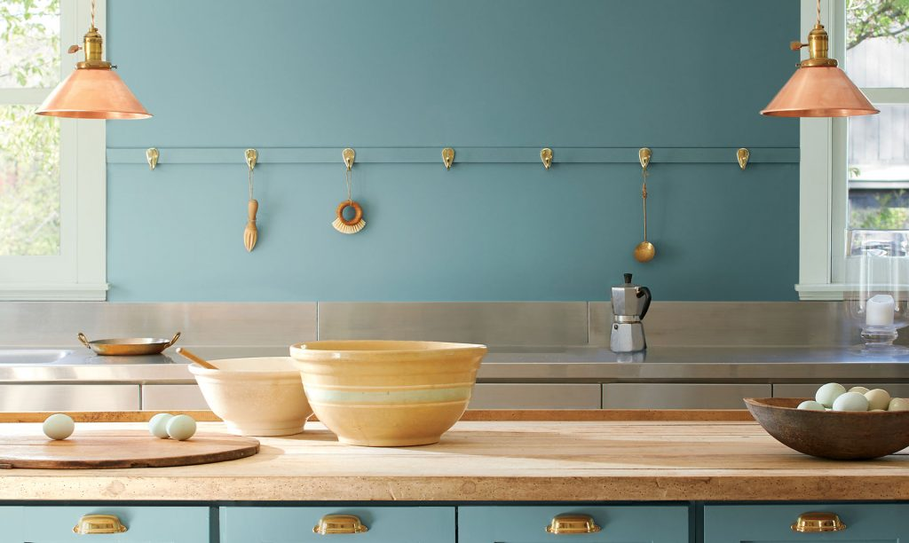 Benjamin Moore Color of the Year 2021 Aegean Teal 2136-40