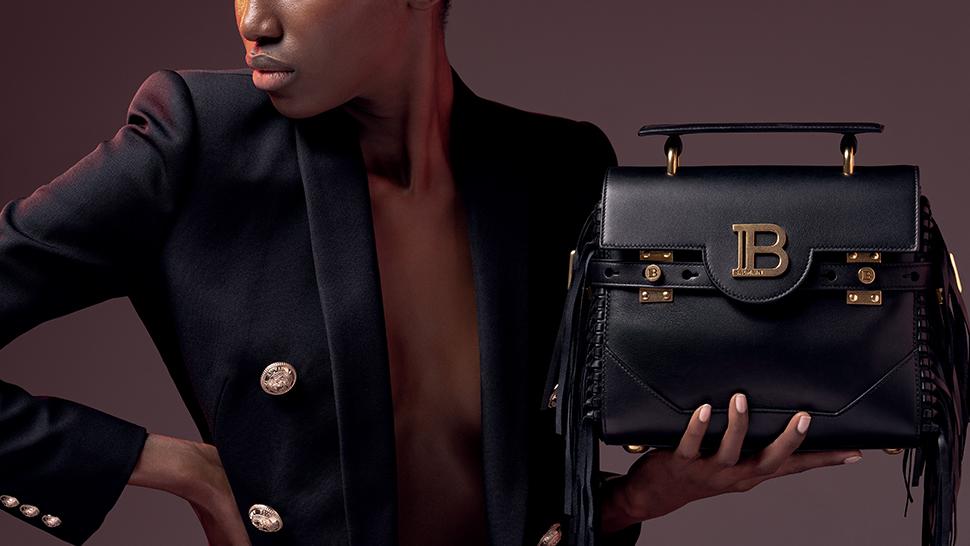 best holiday gifts BBuzz handbag from Balmain