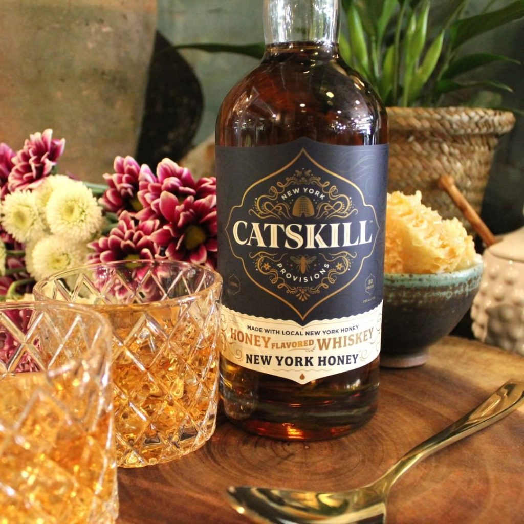 Catskill Provisions New York Honey Rye, Long Eddy, New York, founded by one of the few female whiskey distillers, Claire Marin