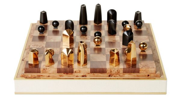 shagreen chess set by aerin best holiday gifts for men