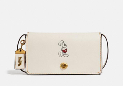 coach x disney cartoon accessory purses