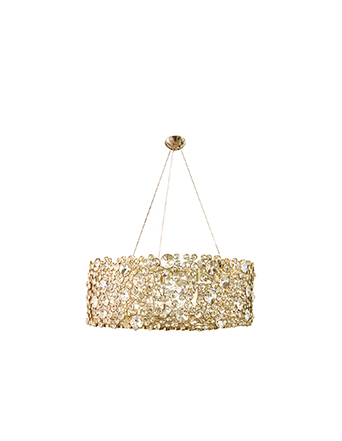 gold and crystal eternity I chandelier koket