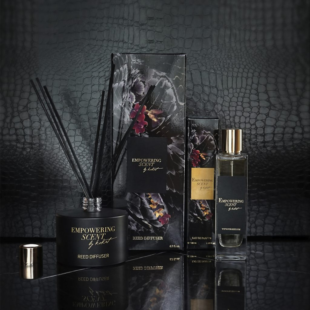 Empowering scent from KOKET
