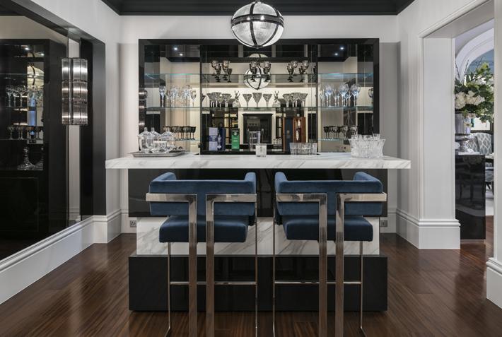 Patsy Blunt Interiors luxurious home bar design ideas