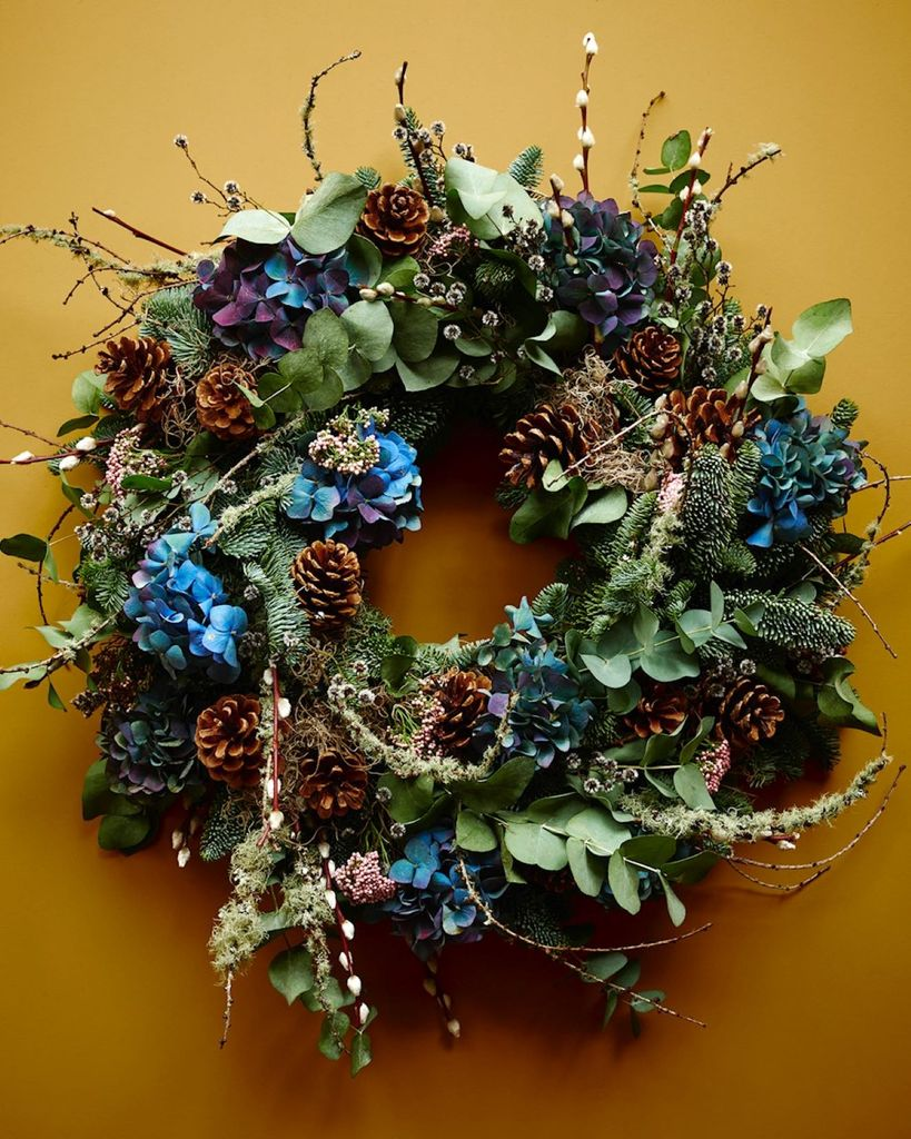 Buttermere wreath by scarlet & violet