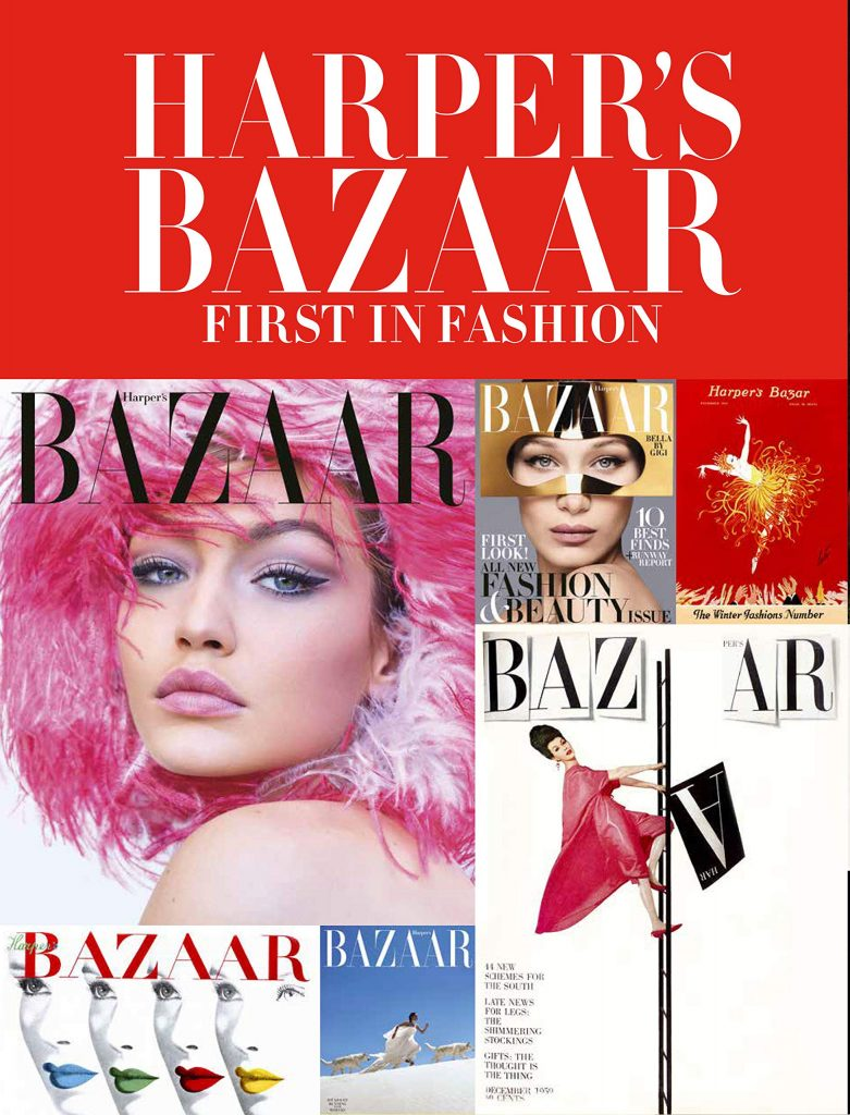 history of fashion books - Harper's Bazaar: First in Fashion by Marianne Le Galliard and Éric Pujalet-Plaà