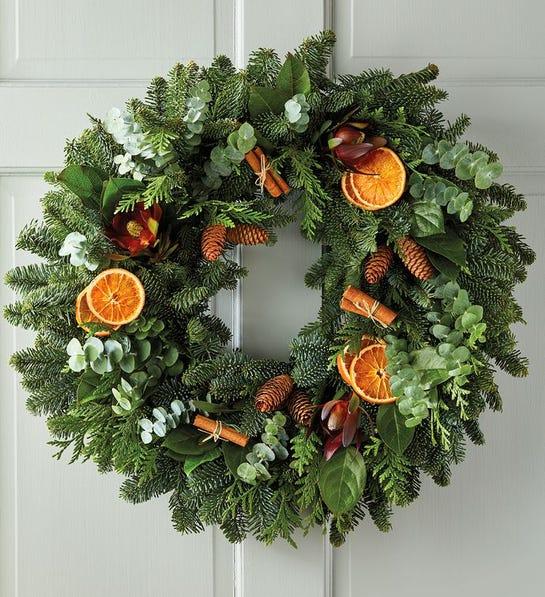 Cinnamon and Citrus Wreath harry & david