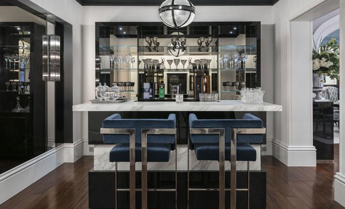 Patsy Blunt Interiors luxury bar