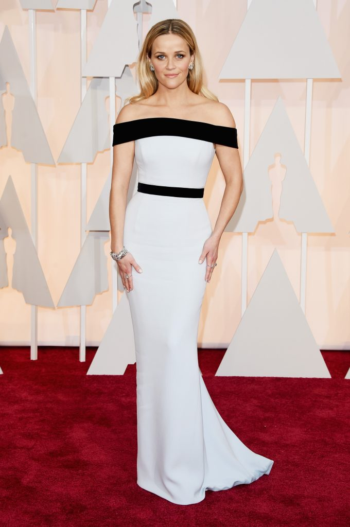 dress the part #askhermore - reese witherspoon on red carpet at academy awards oscars 2015