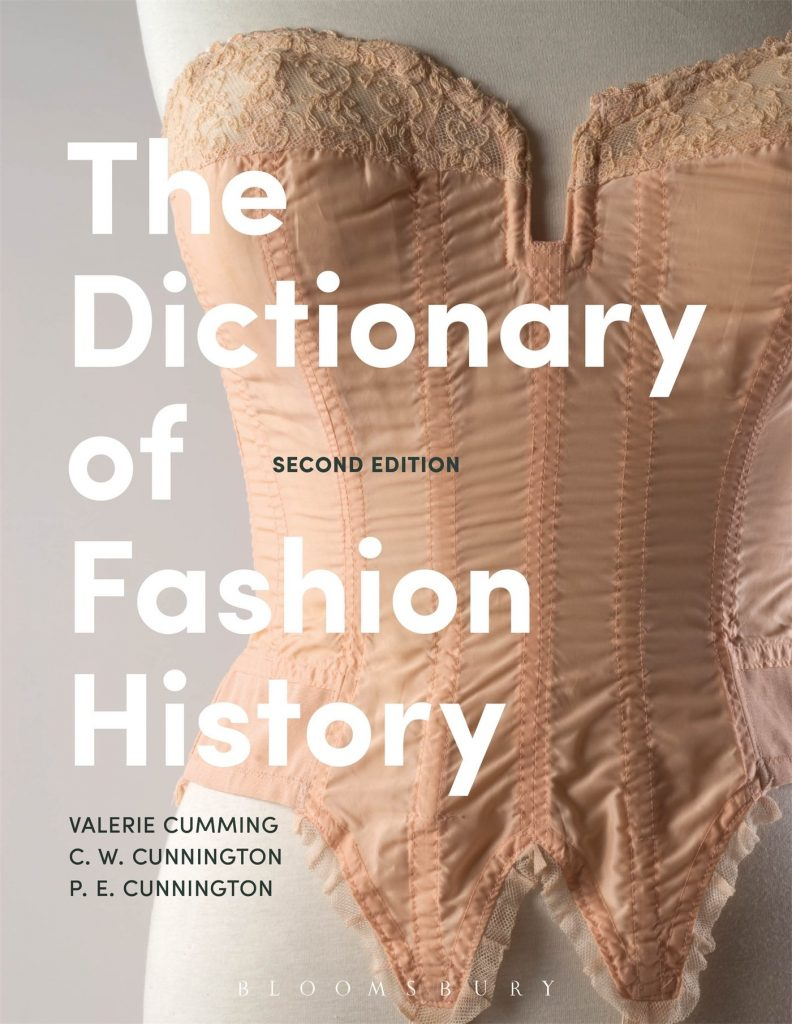 history of fashion books - The Dictionary of Fashion History by Valerie Cumming