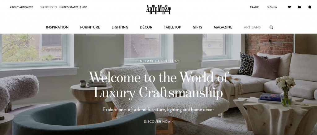 artemest made in italy top interior design resources
