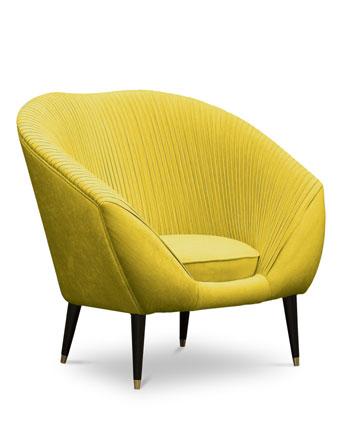 audrey chair koket pantone color of the year 2021 illuminating yellow