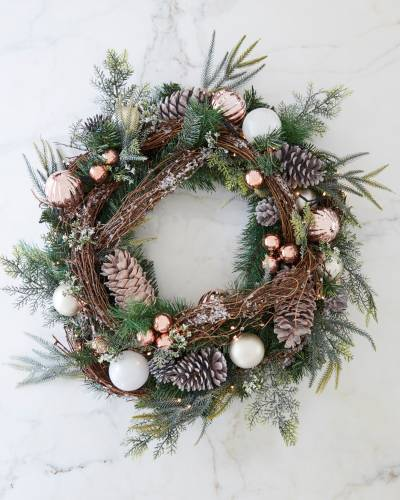 French Country Foliage beautiful Christmas wreaths balsam hill