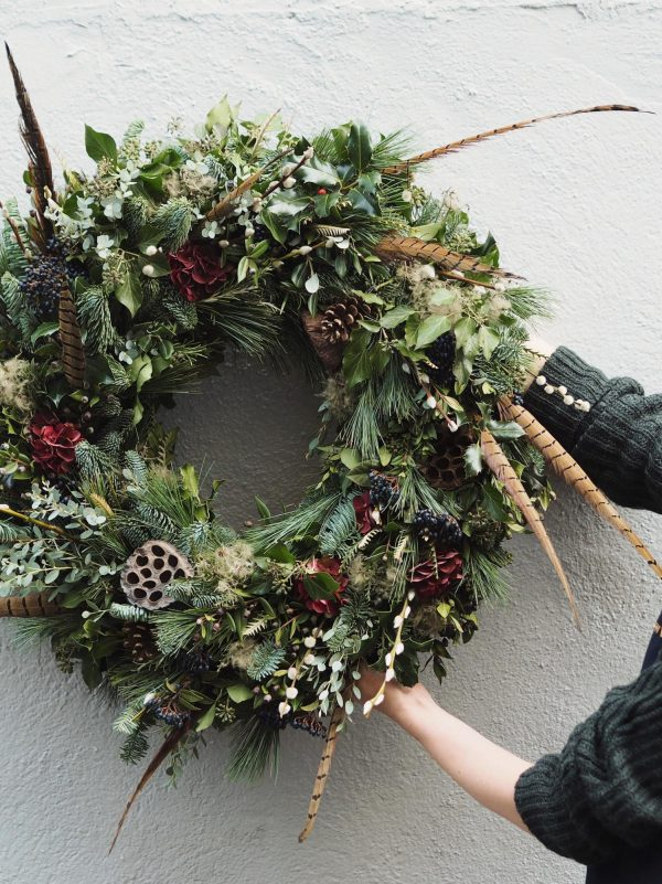 The Rustic Wreath by bramble & wild