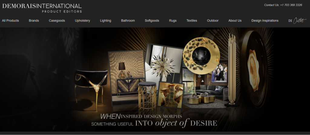 demorais international top interior design resources