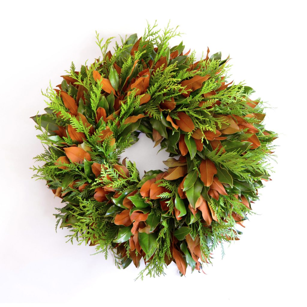 Emerald Lace Wreath by west on farms