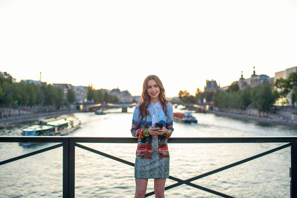 best tv series locations Emily in Paris Series from Netflix