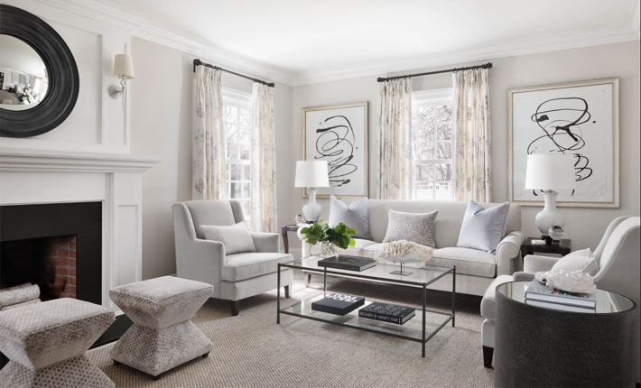 investment pieces of furniture in luxury living room design by hackett interiors