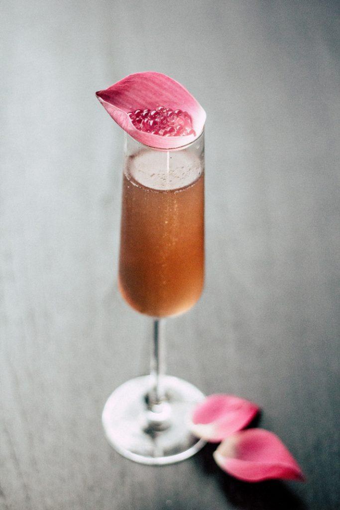 pink cocktails bridal shower