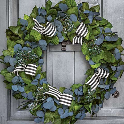 beautiful Christmas wreaths Madison Avenue Wreath by olive & cocoa