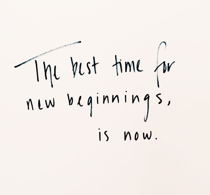 new year quotes inspirational captions - the best time for new beginnings is now