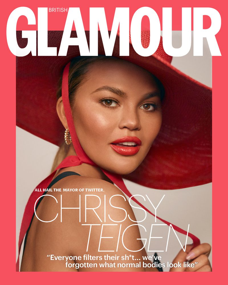 glamour cover top popular fashion magazines