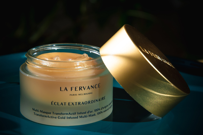 Gold infused Eclat Extraordinaire beauty balm by LA FERVANCE