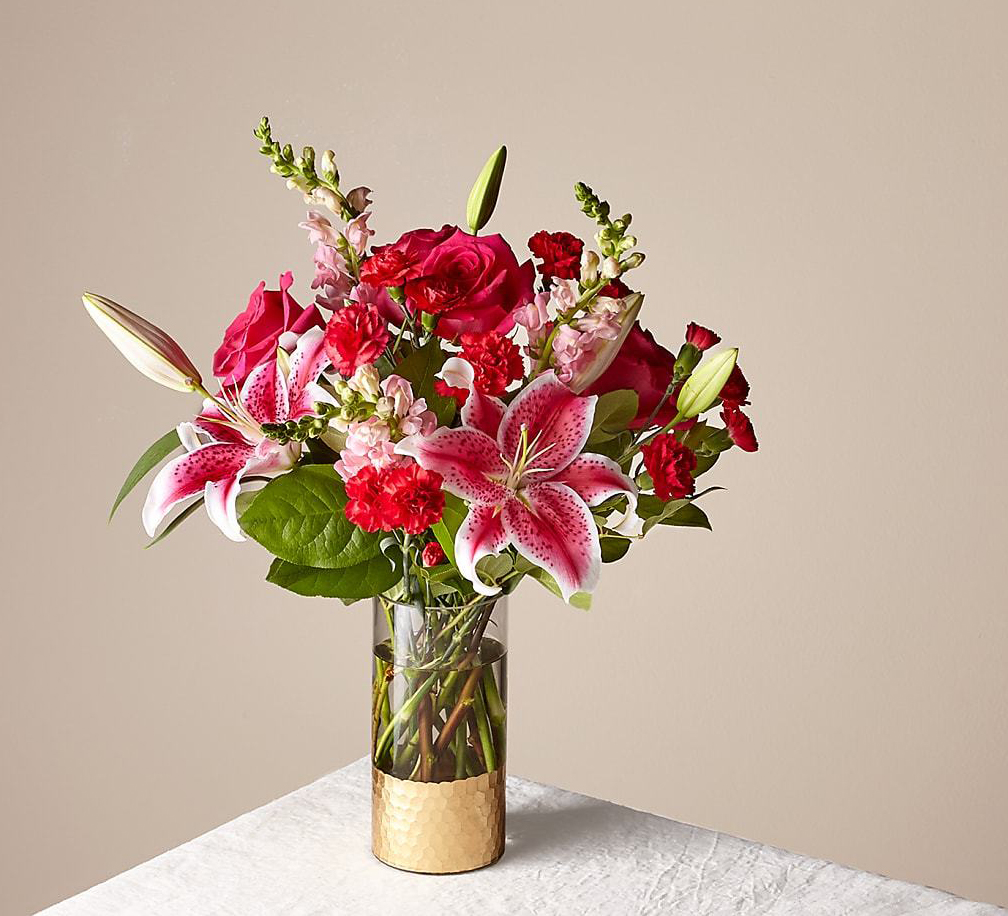Be Mine Bouquet FTD best online Flower Delivery services