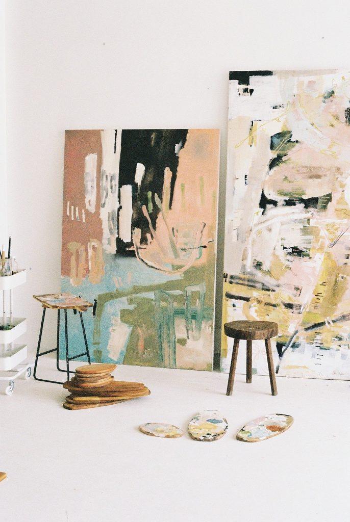 ashleigh ash holmes art - mixed medium painting by female Australian artist