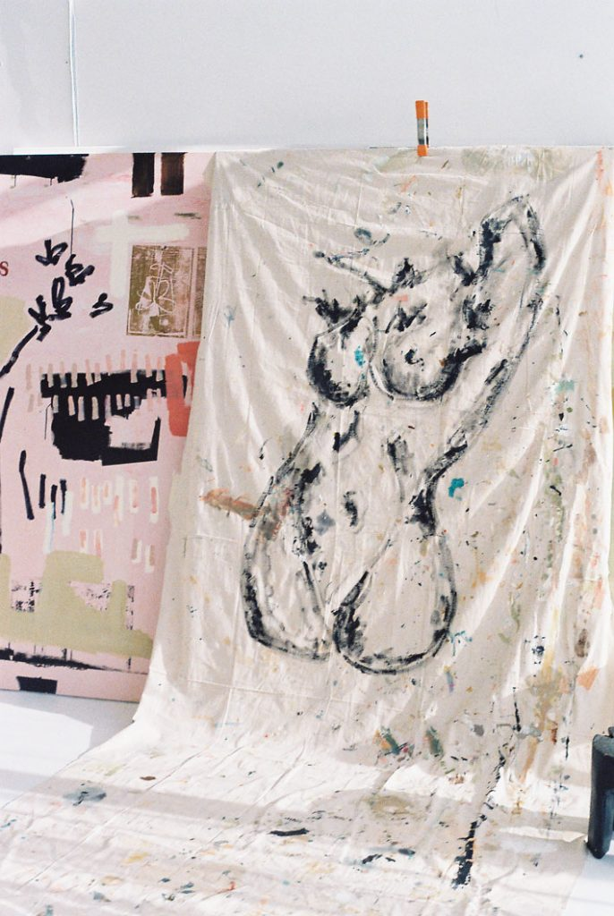 ash holmes art - australian female artist