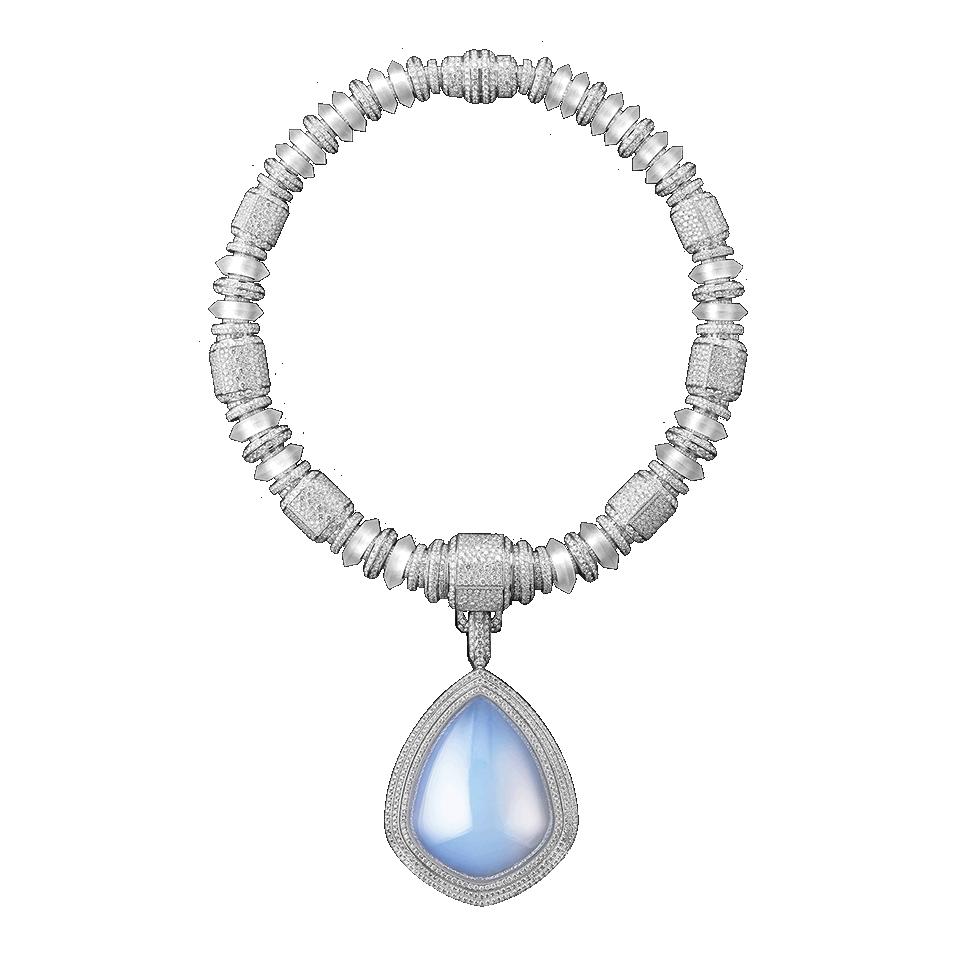 Contemplation boucheron necklace jewelry trends 2021
