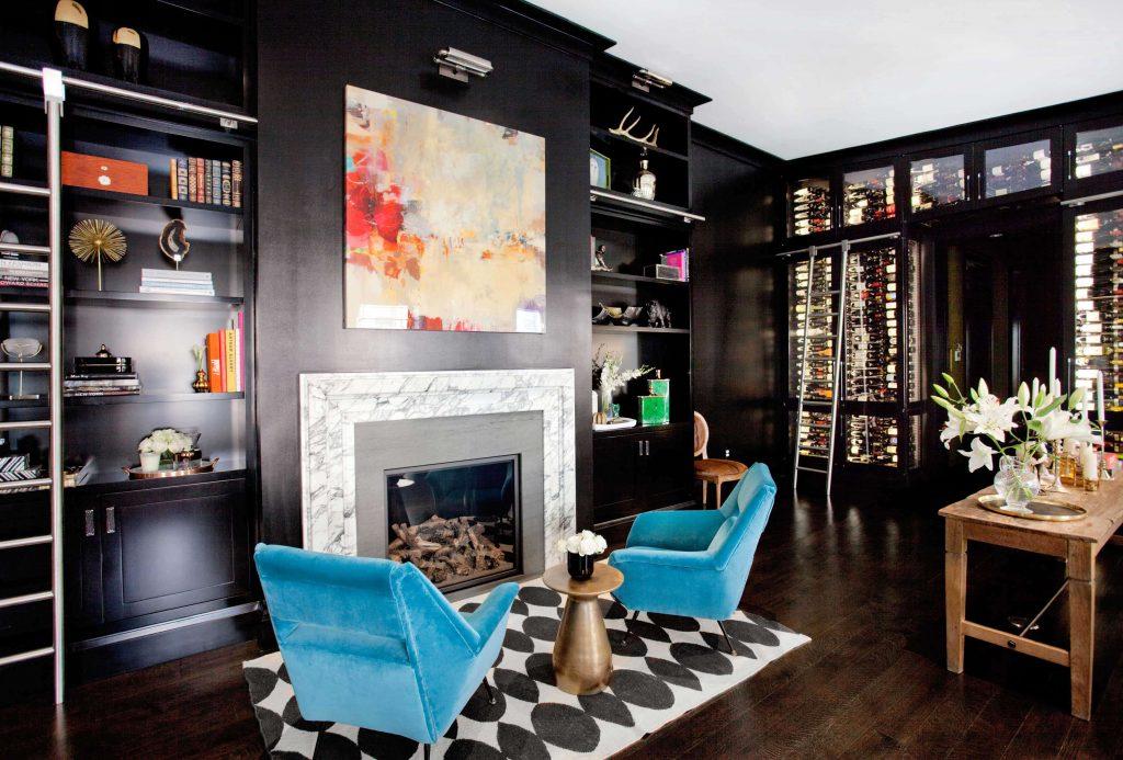 luxury lighting design trends 2021 black library led art lamp wall sconce lights nicole fuller interior design