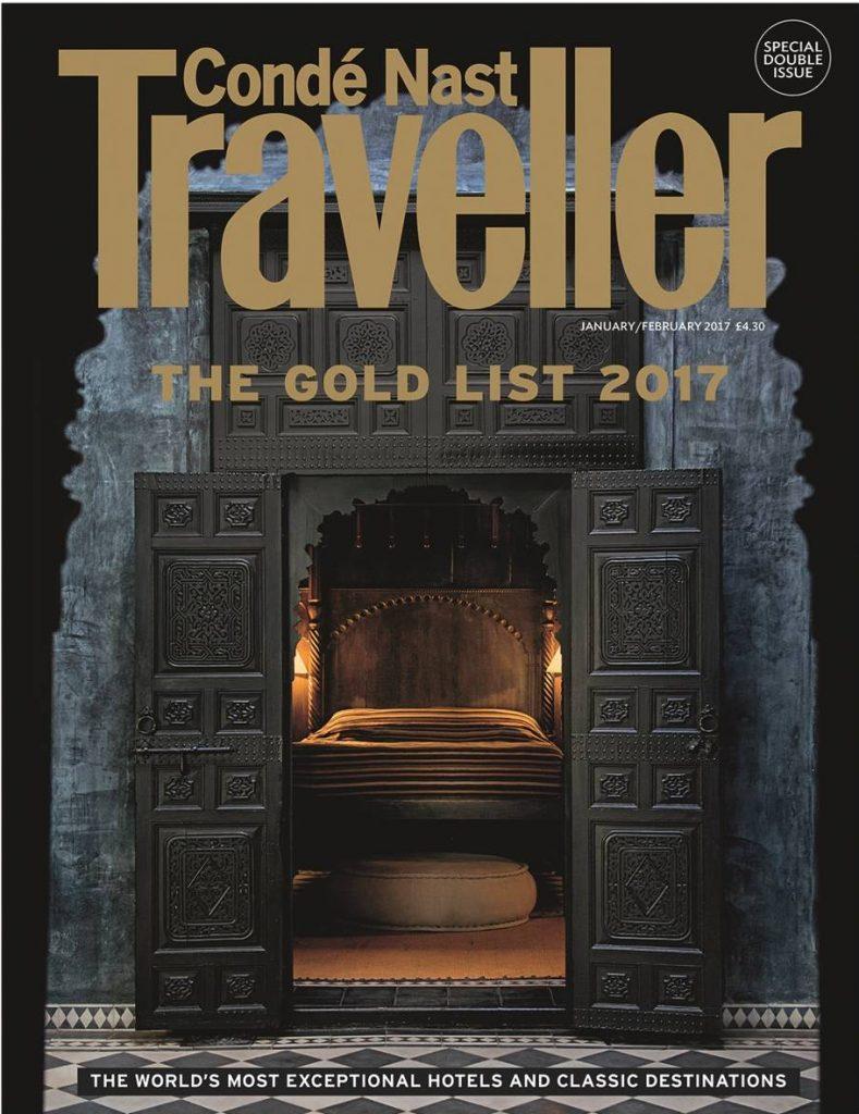 conde nast traveller luxury lifestyle magazine