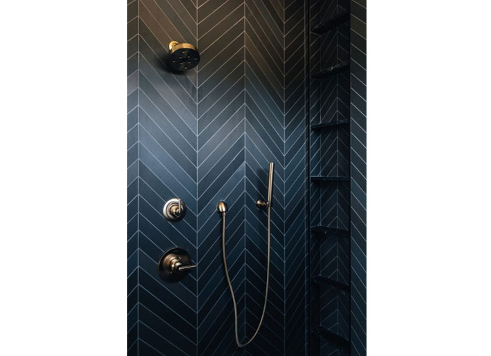bre hance bathroom with black tile