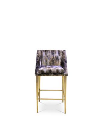 geisha bar stool koket square back