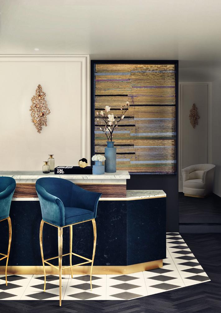 home bar design ideas koket bar stools luxury furniture eternity sconces