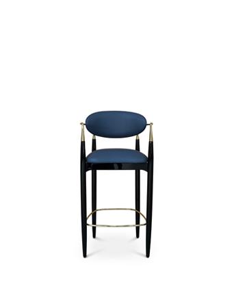 nahema bar stool koket brass hands