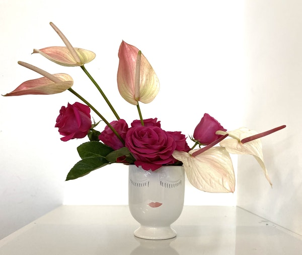 top online flower delivery services pretty in pink rose bouquet flowers floom