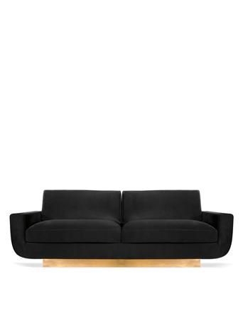 sofia sofa sofa koket black and gold furniture