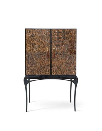 temptation bar cabinet koket feather wallpaper