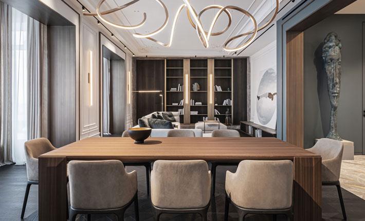 luxury apartment kyiv by yodezeen