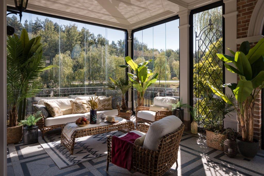 luxury sunroom design by bolshakova emerald villa