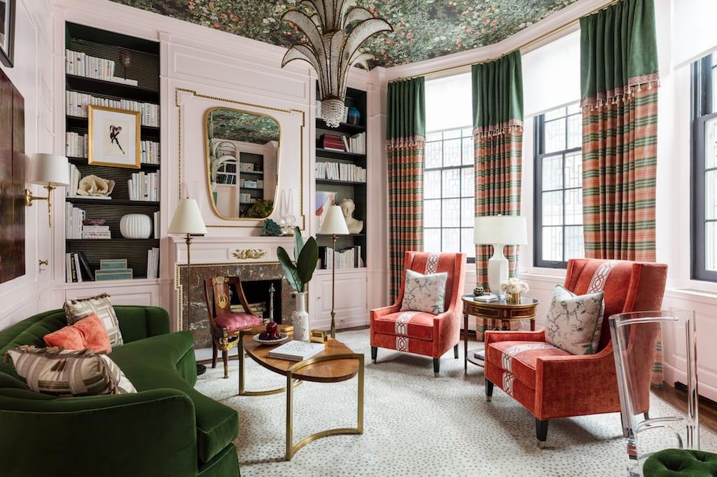 A Modern Lady's Library for Kips Bay 2019 by Corey Damen Jenkins & Associates LLC (Photo by Nickolas Sargent)