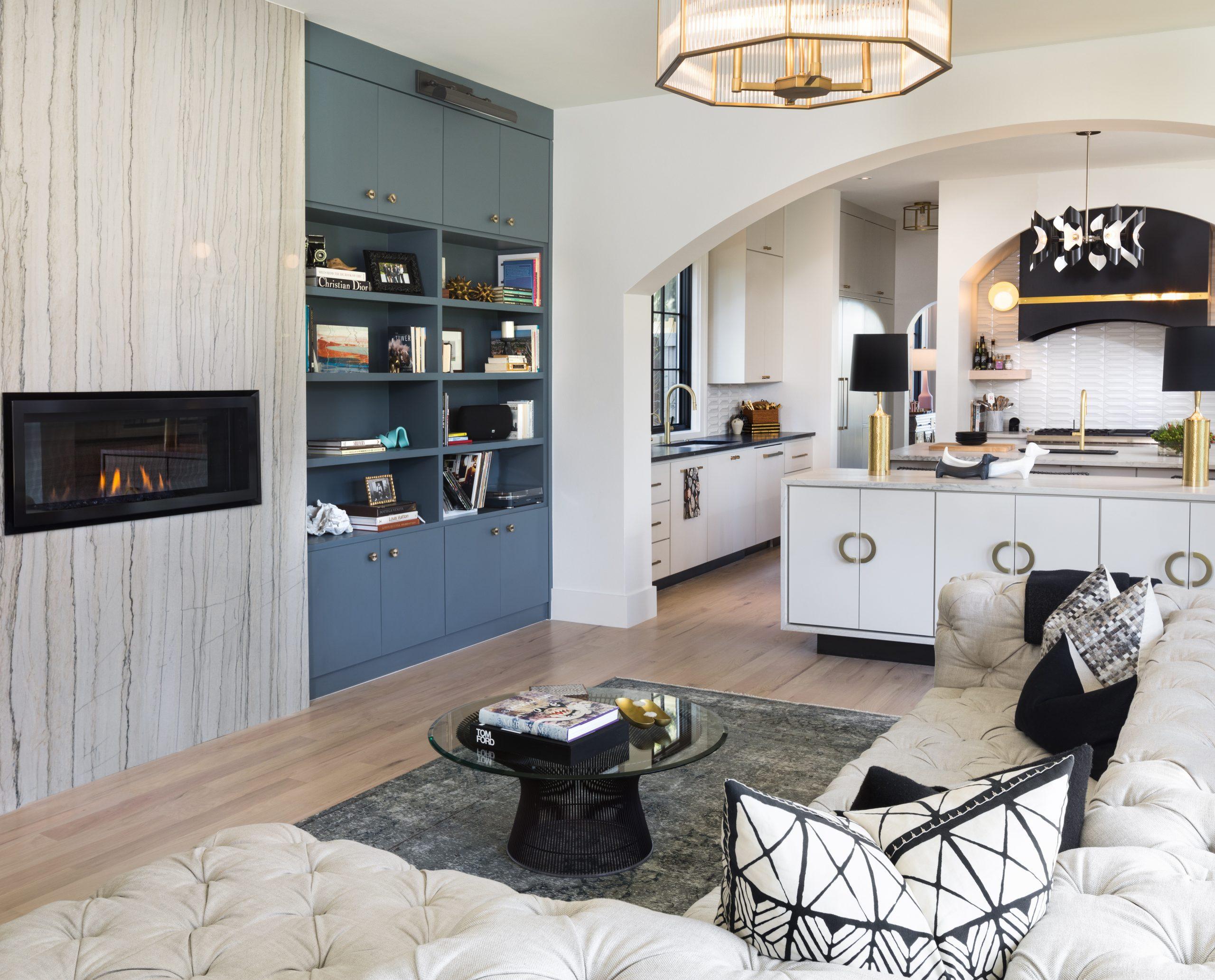 gaston residence kitchen living family room texas